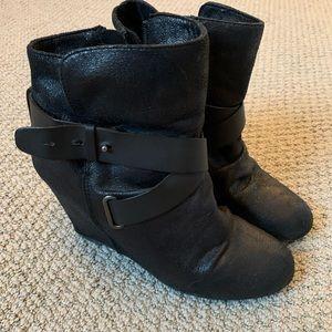 Aldo Black Winter Booties
